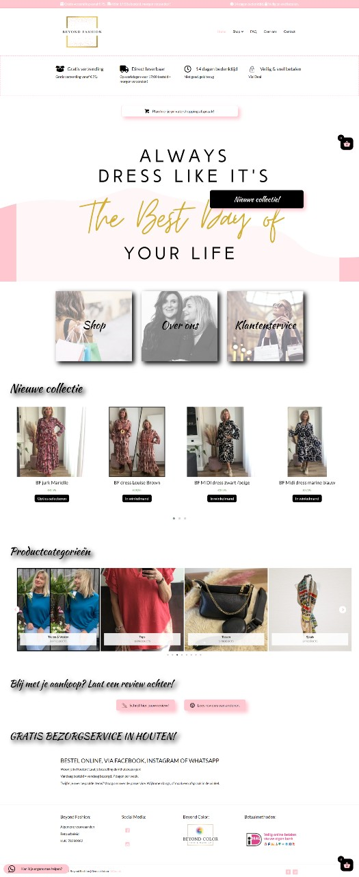 Beyond Fashion portfolio